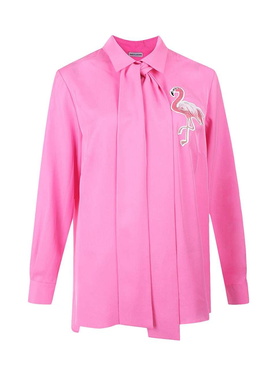 Блуза с вышивкой для беременных