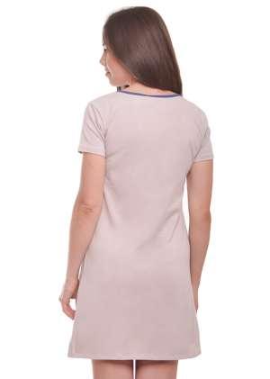Ночная рубашка для беременных и кормящих Clover