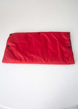Муфта для рук для коляски утепленная красный