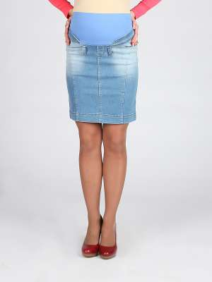 Юбка джинсовая для беременных