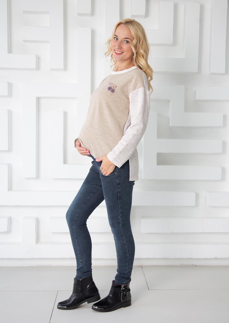 Свитшот для беременных Моби