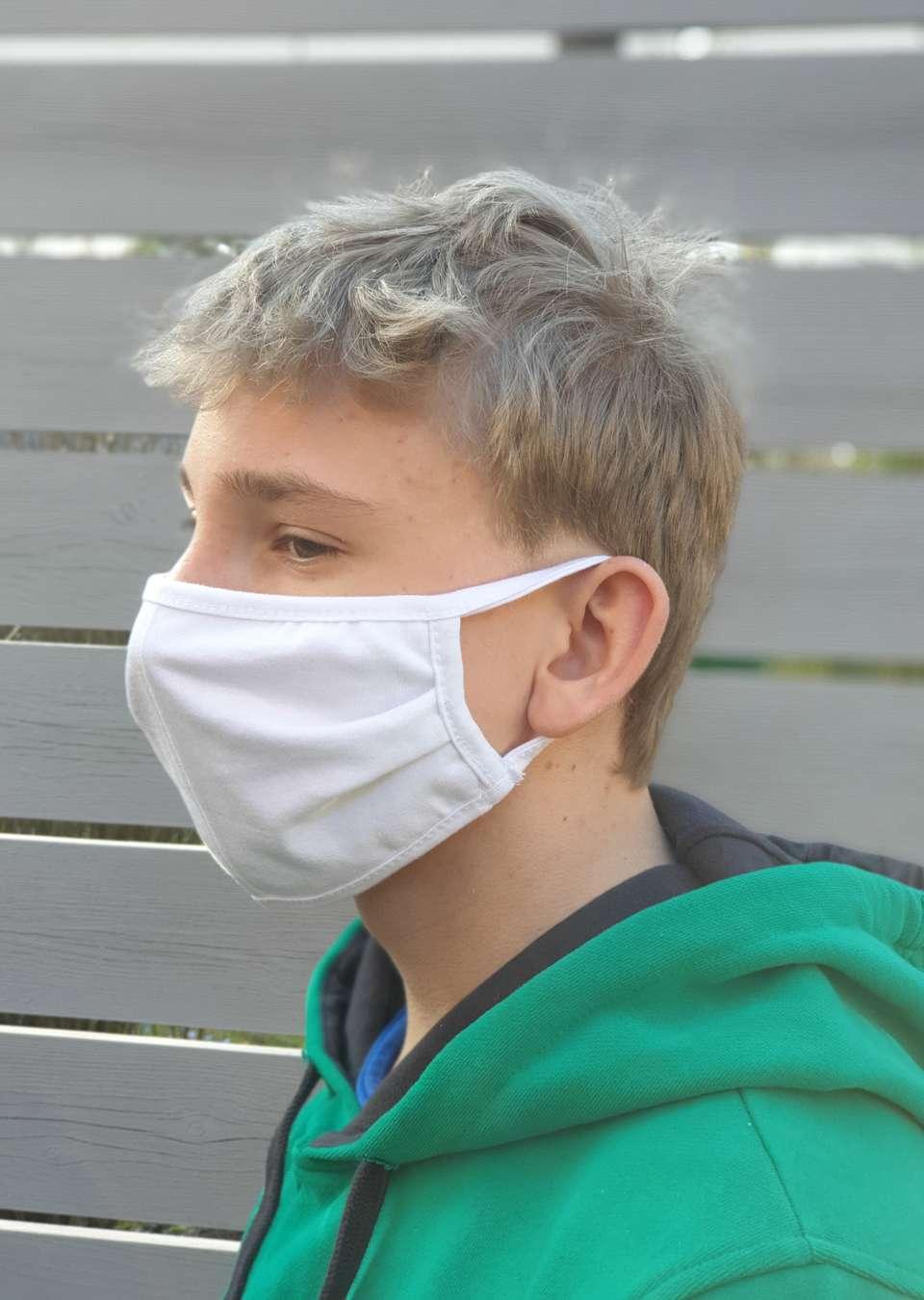 Маска для лица защитная (3шт) Барьер