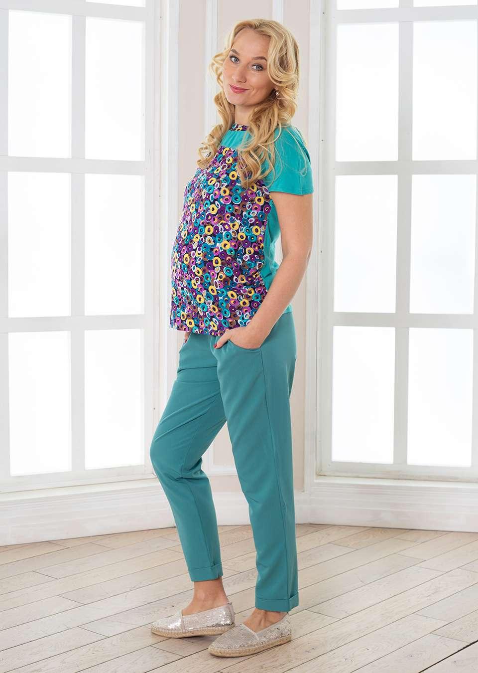 Брюки Стейси летние для беременных