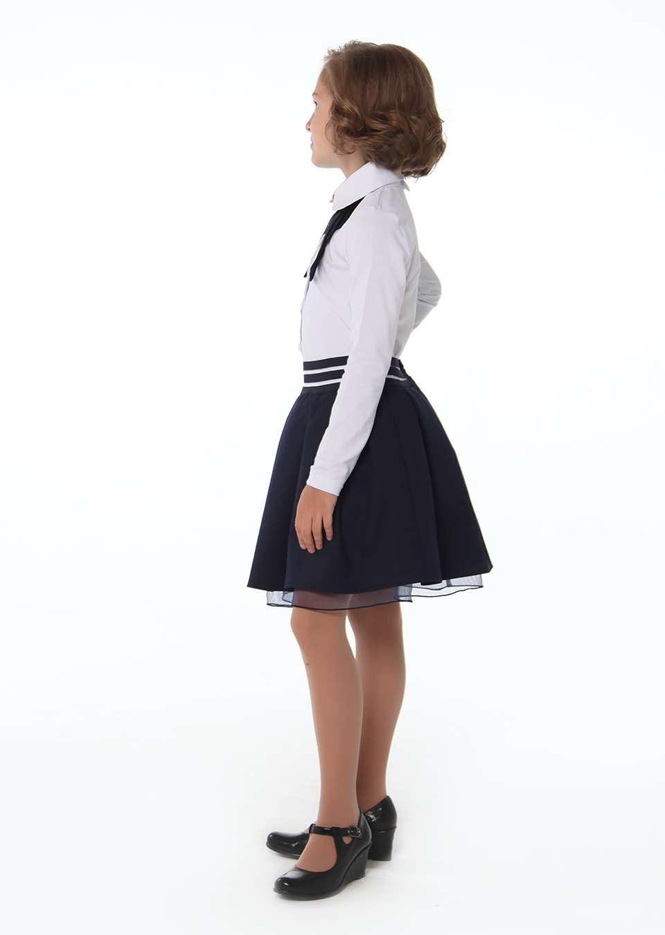 Блуза с застежкой