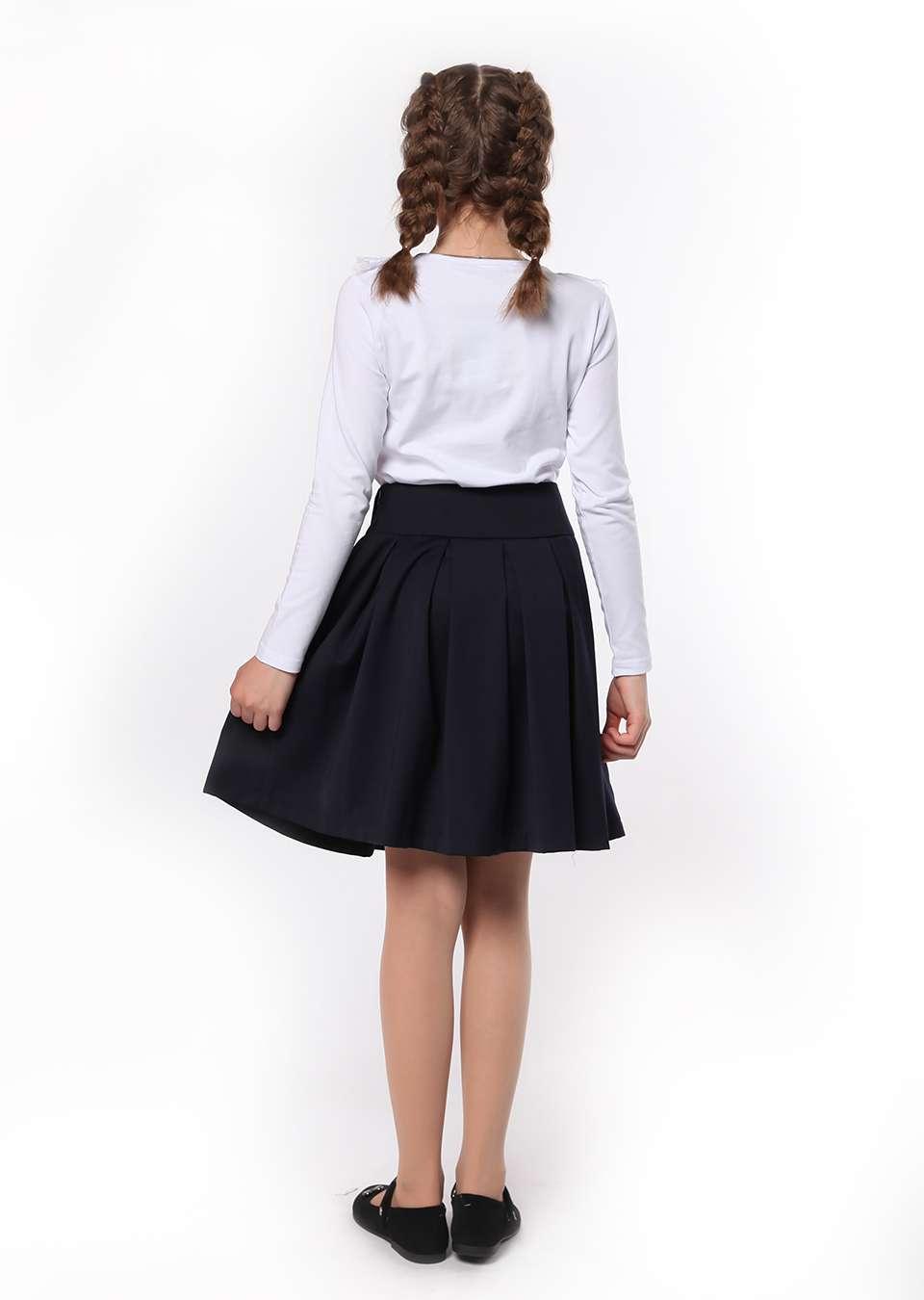 Блуза с кружевным воротником