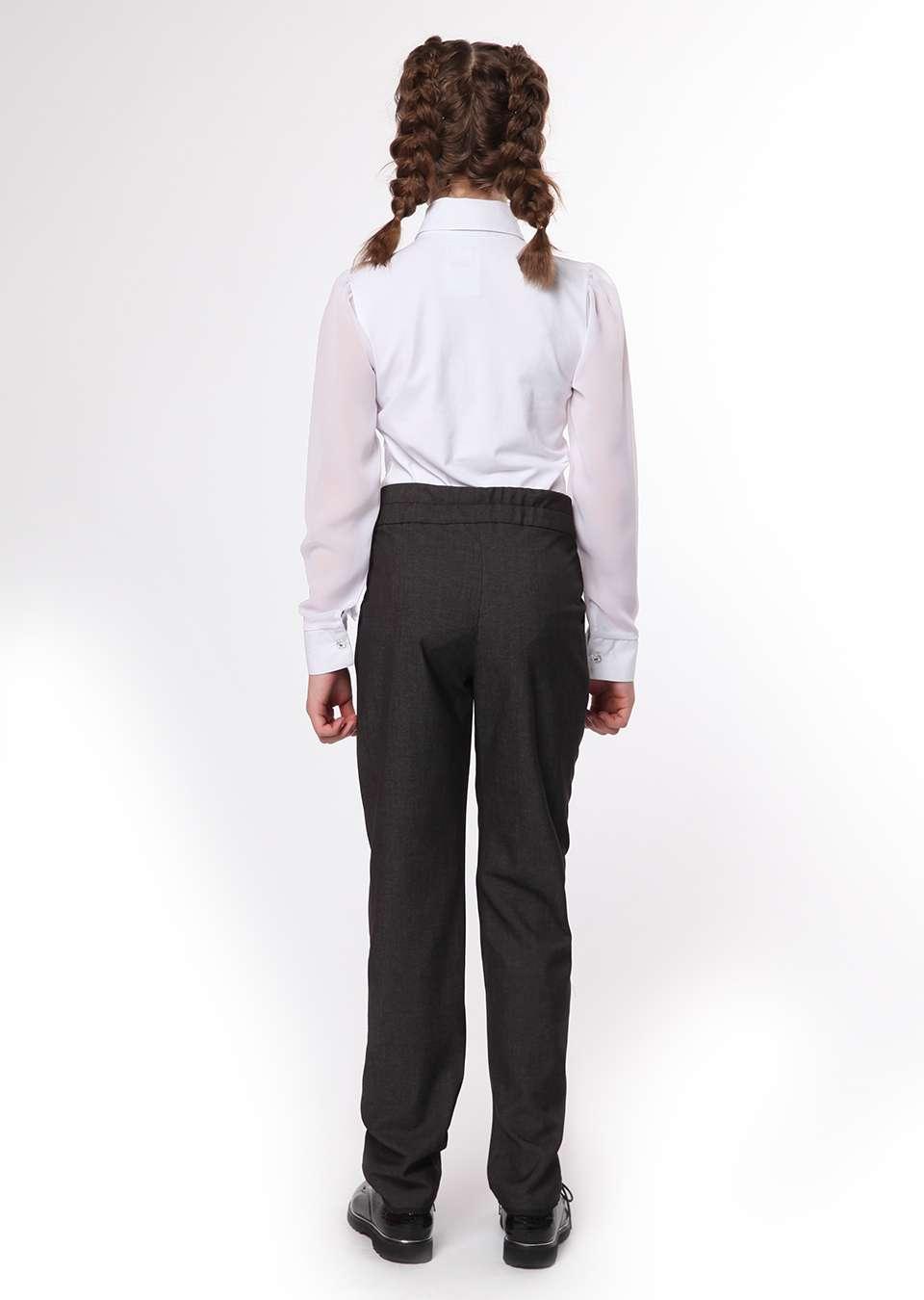 Блуза с шифоновыми рукавами