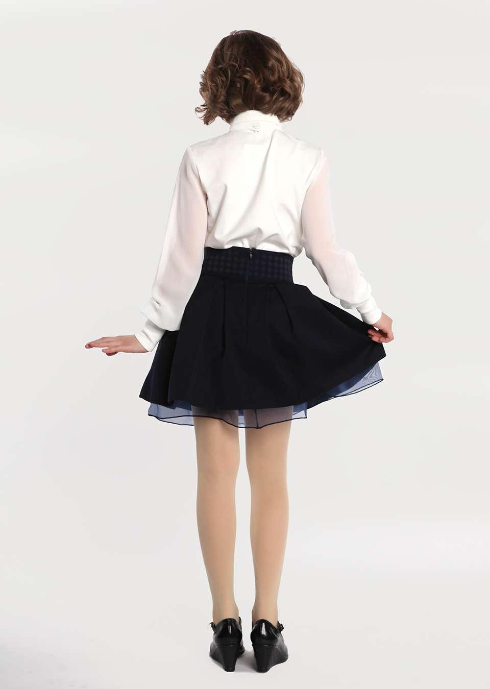 Блуза на пуговицах школьная