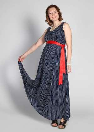 Платье для беременных длинное