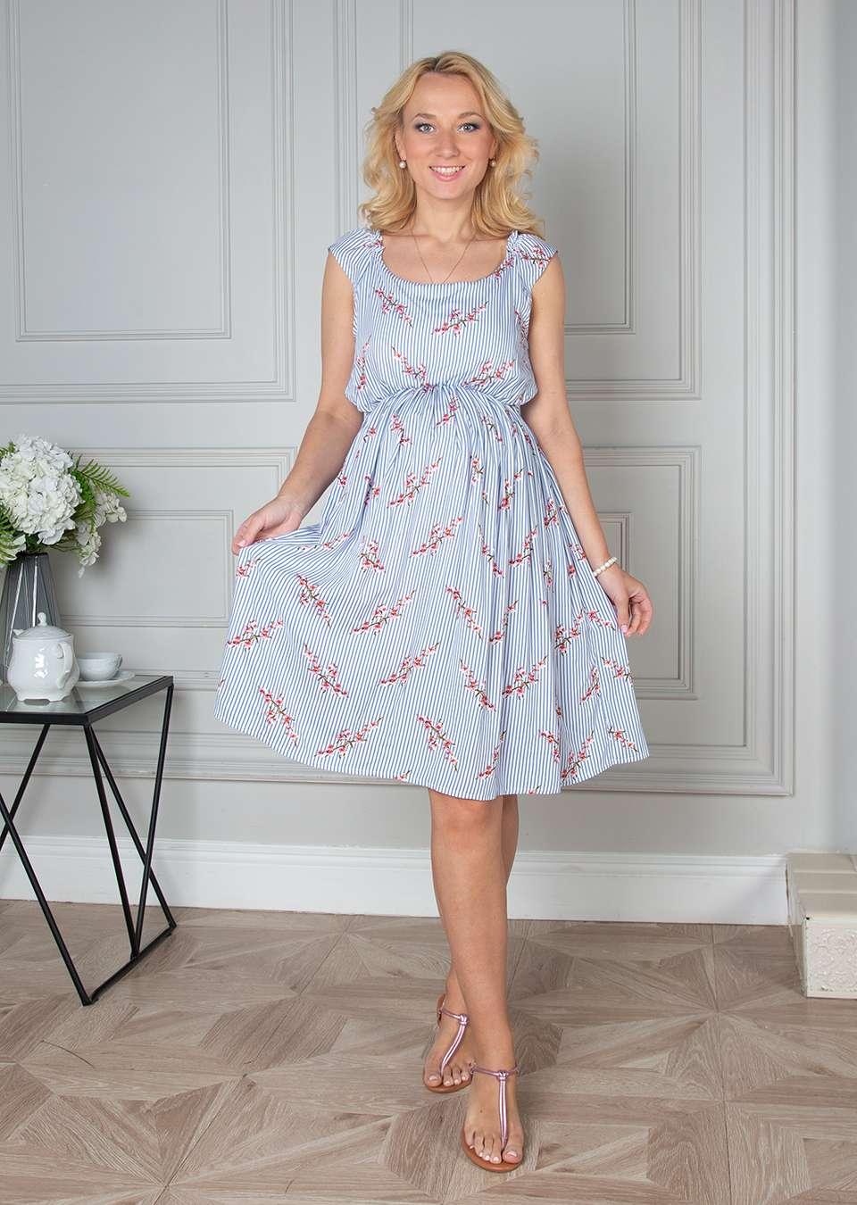 Платье для беременных и кормящих Эльза
