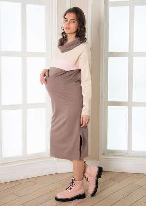 Платье для беременных и кормящих Фрида