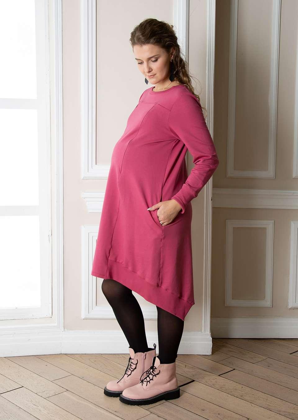 Платье для беременных и кормящих Оливия