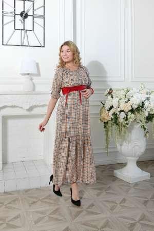 Платье длинное  для беременных Барбара