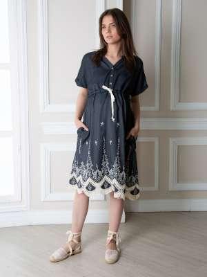 Платье для беременных и кормления Диана