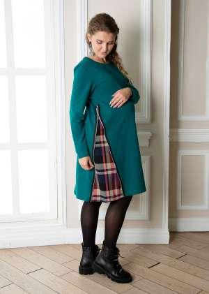 Платье для беременных с молнией Матис