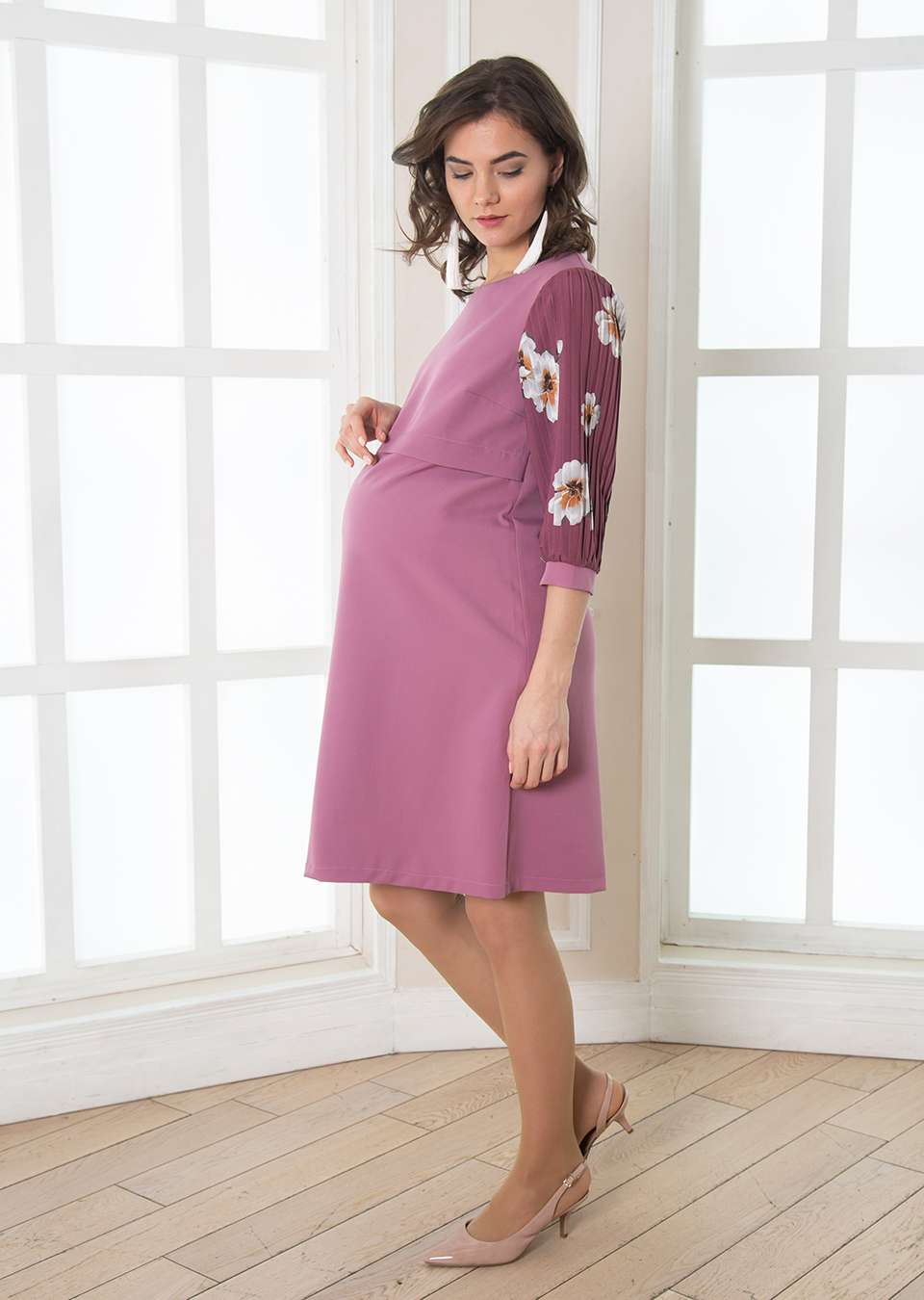 Платье Флоранс для беременных и кормящих
