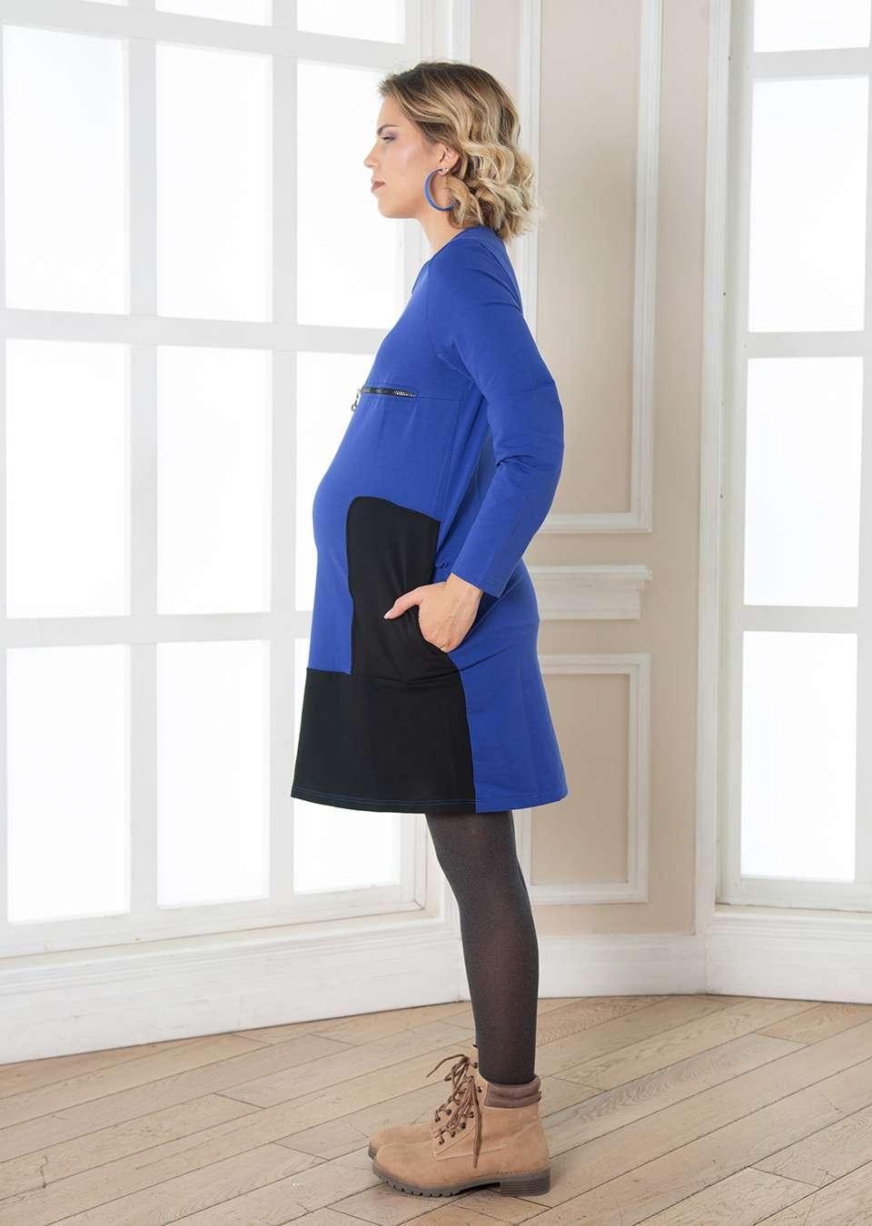 Платье для беременных и кормления