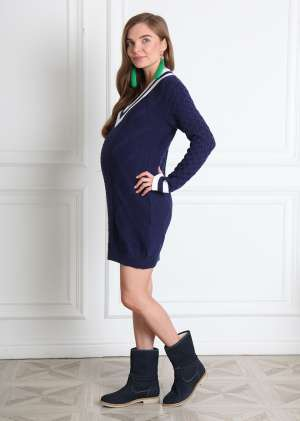 Платье прямое Бруклин для беременных
