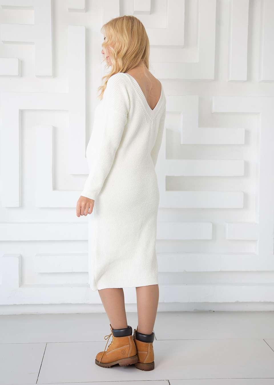 Платье вязаное Брук для беременных