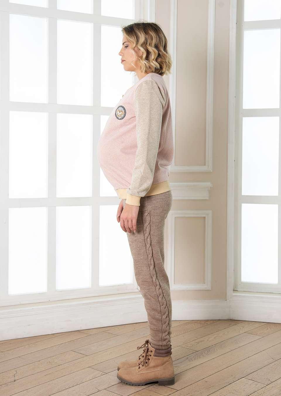 Бомбер для беременных Люкс