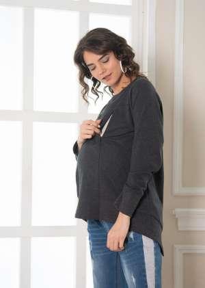 Свитшот для беременных Санти