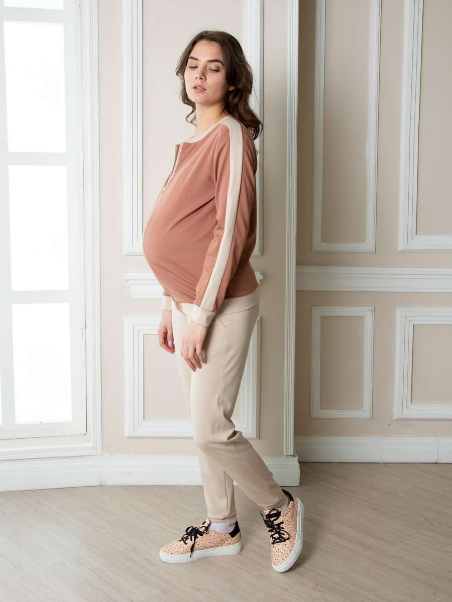 Джемпер для беременных Люкс