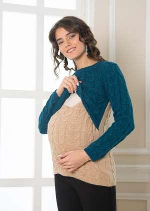 Свитер для беременных Бэмби