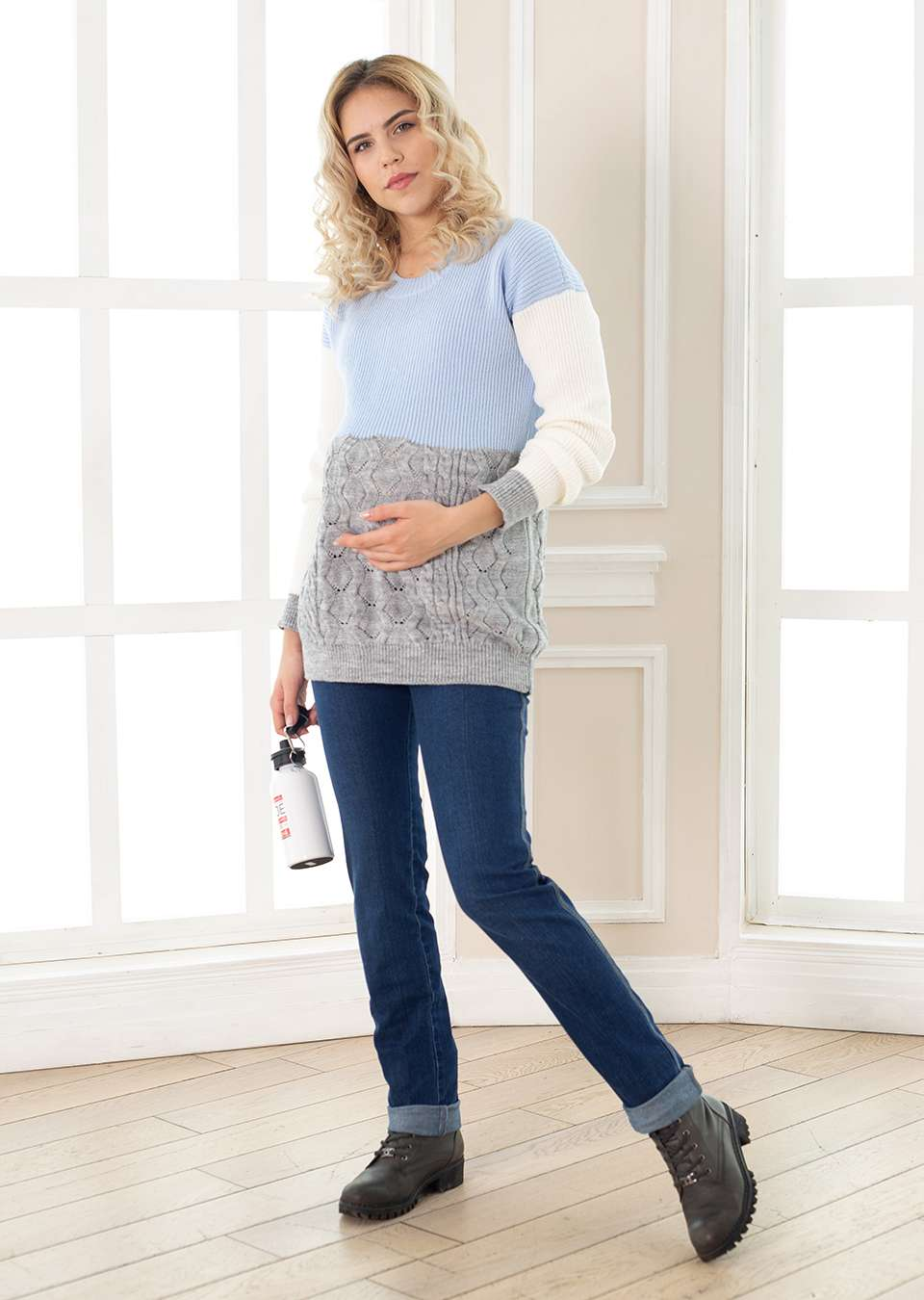 Свитер  для беременных Тайс