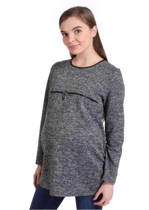 Пуловер для беременных и кормящих