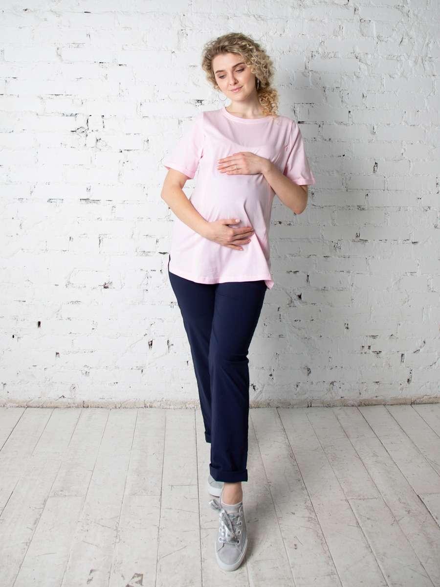 Футболка для беременных и кормящих Юни Light