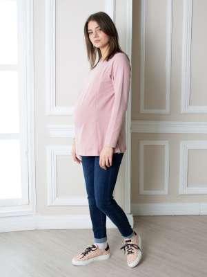 Лонгслив для беременных и кормящих Юни