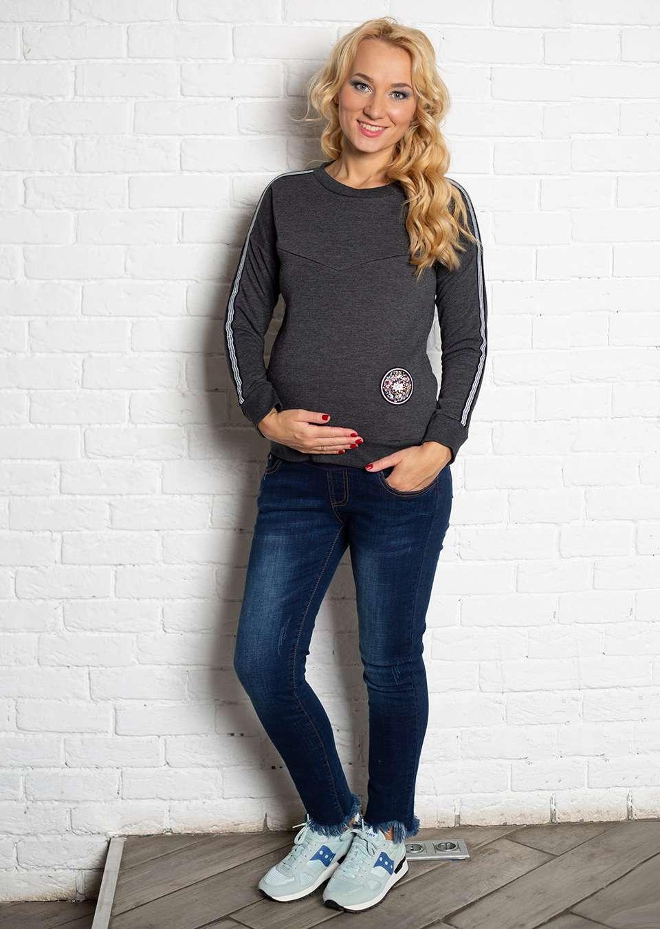 Свитшот Лав для беременных и кормящих