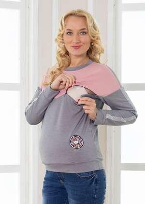 Свитшот Дорис для беременных и кормящих