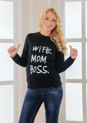 Свитшот Mam boss для беременных