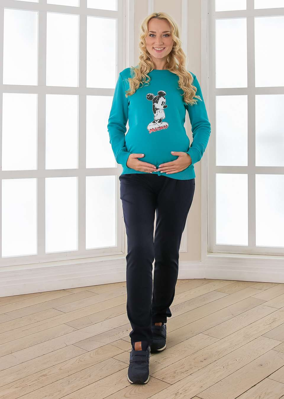 Свитшот Микки для беременных