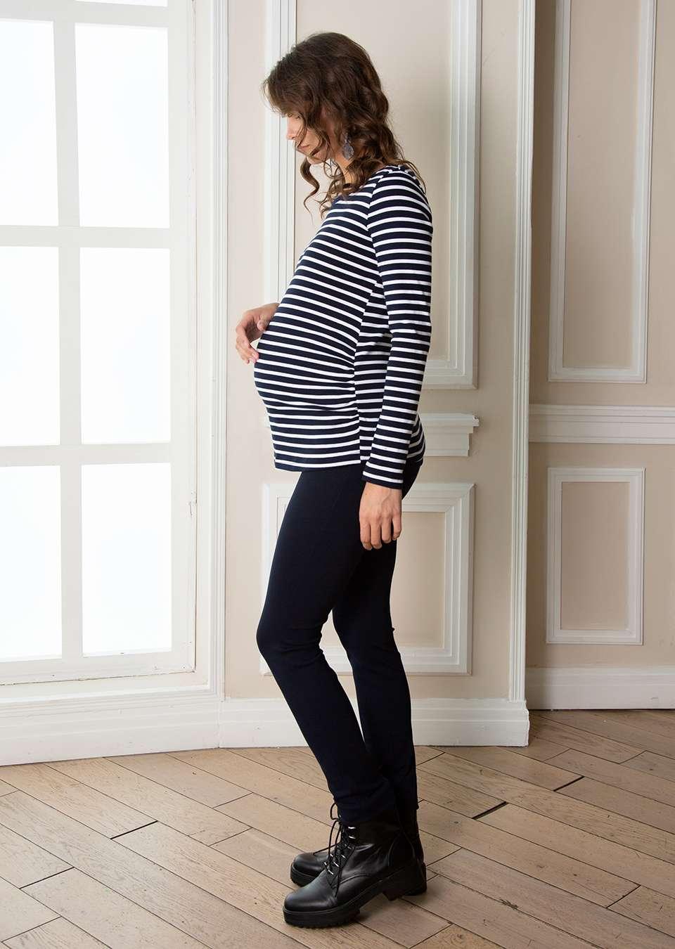 Лонгслив  для беременных Юми