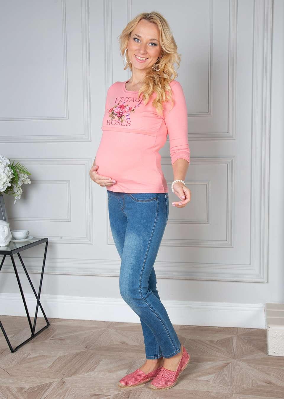 Блуза Винтаж для беременных и кормящих