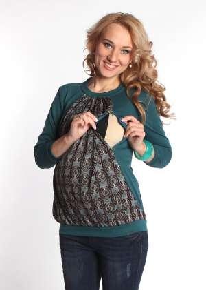 Блуза Рита  для беременных икормящих