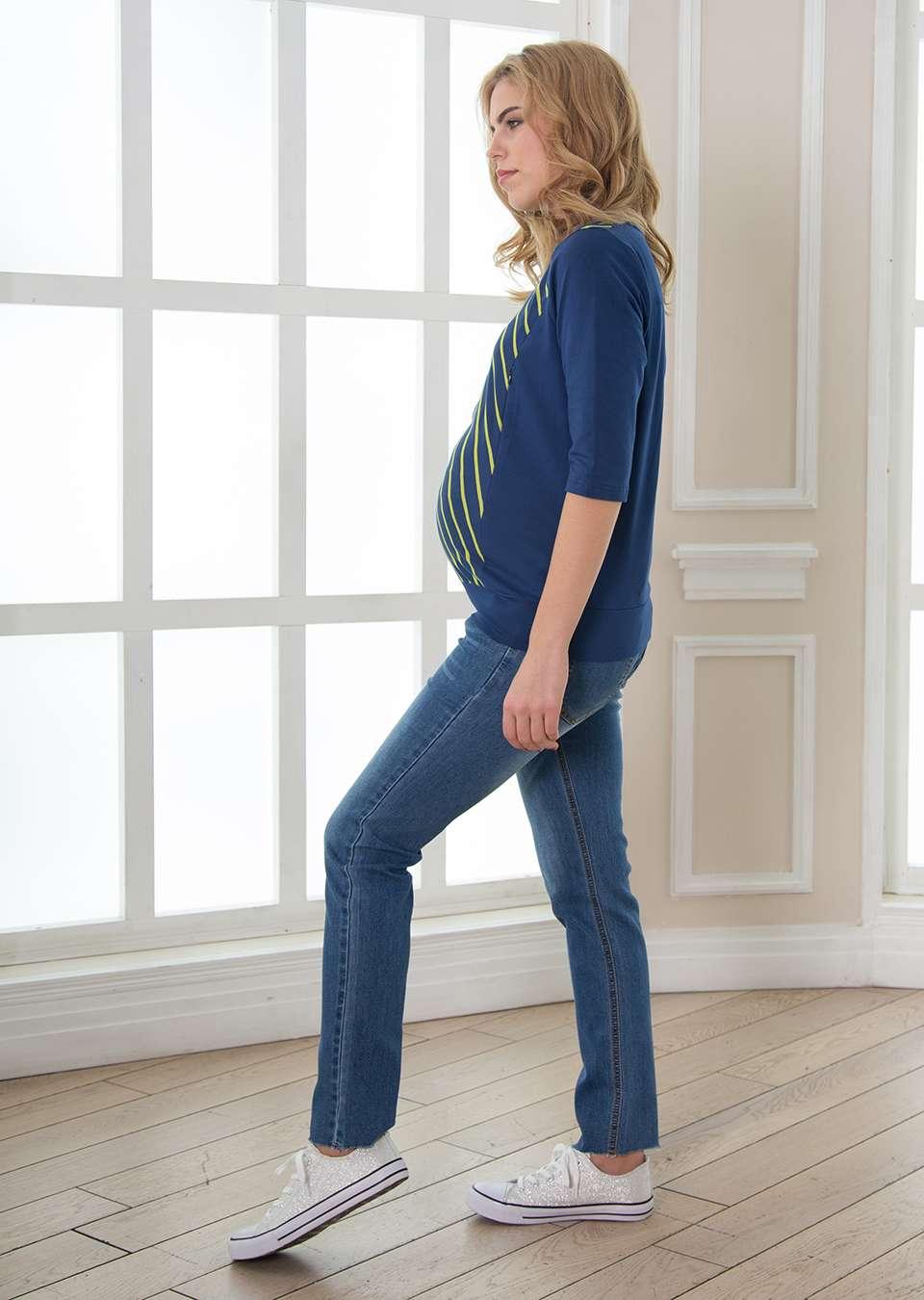 Лонгслив для беременных и кормящих Вита
