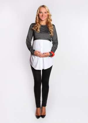 Блуза обманка для беременных
