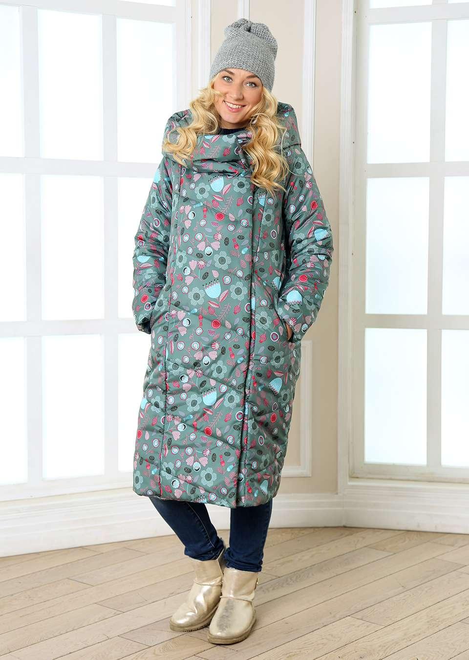 Пальто для беременных Мона