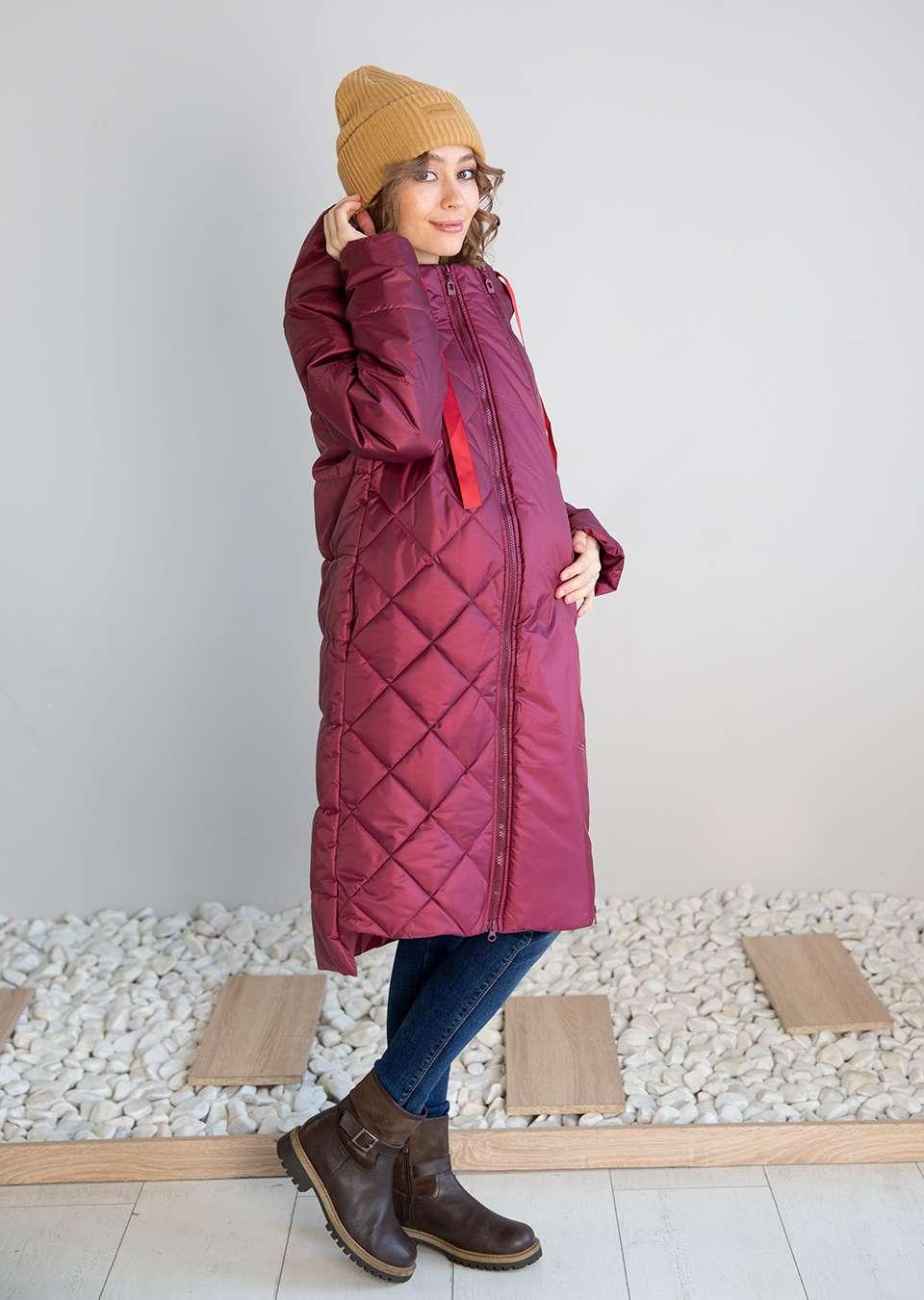 Пальто для беременных Франческа 2 в 1