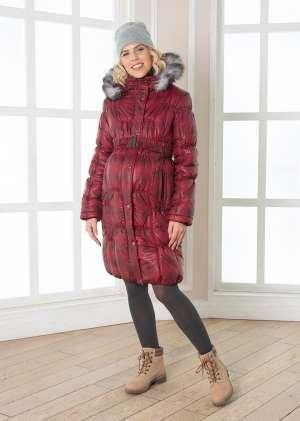 Пальто зимнее для беременных Рита