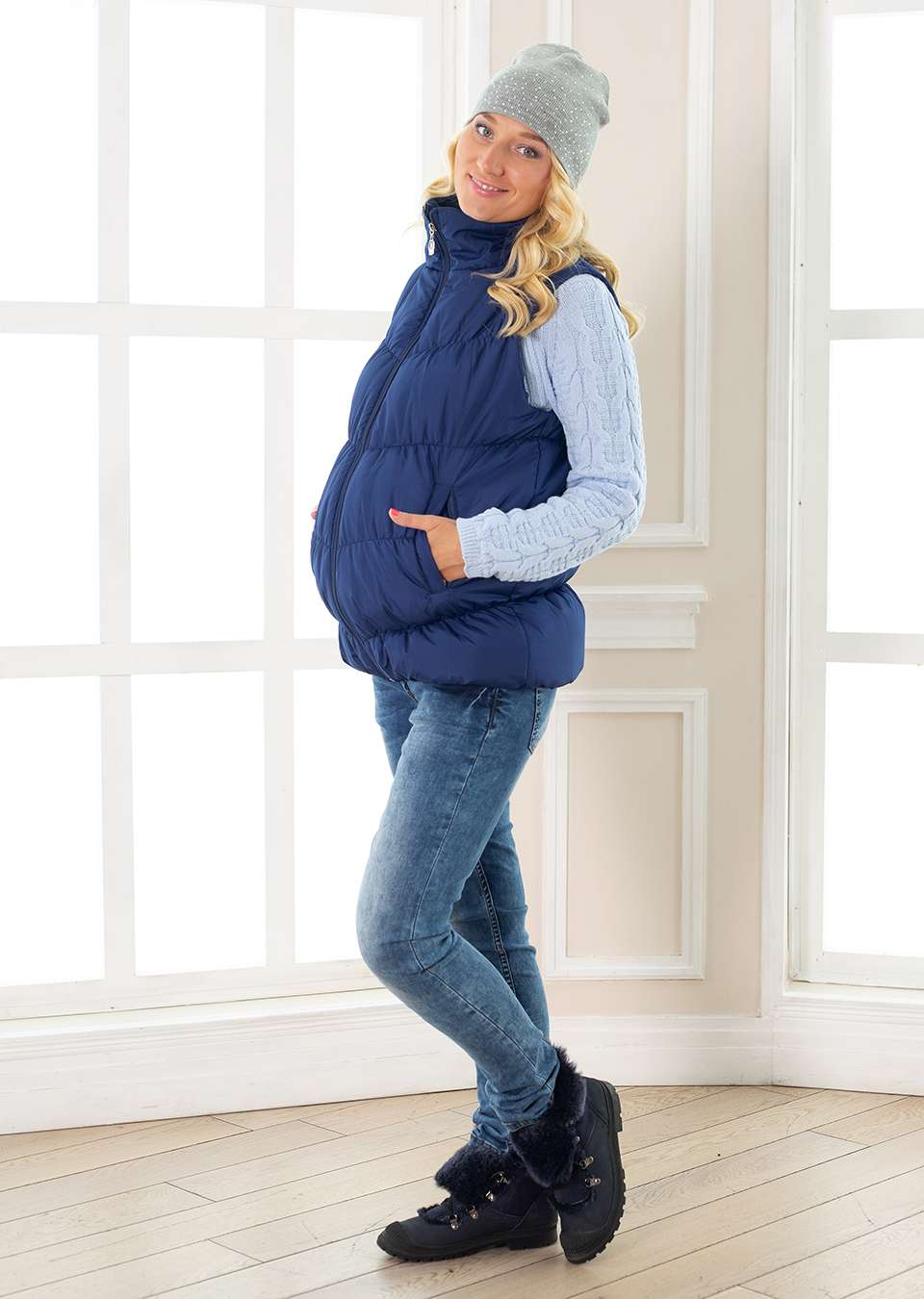 Жилет для беременных Прованс