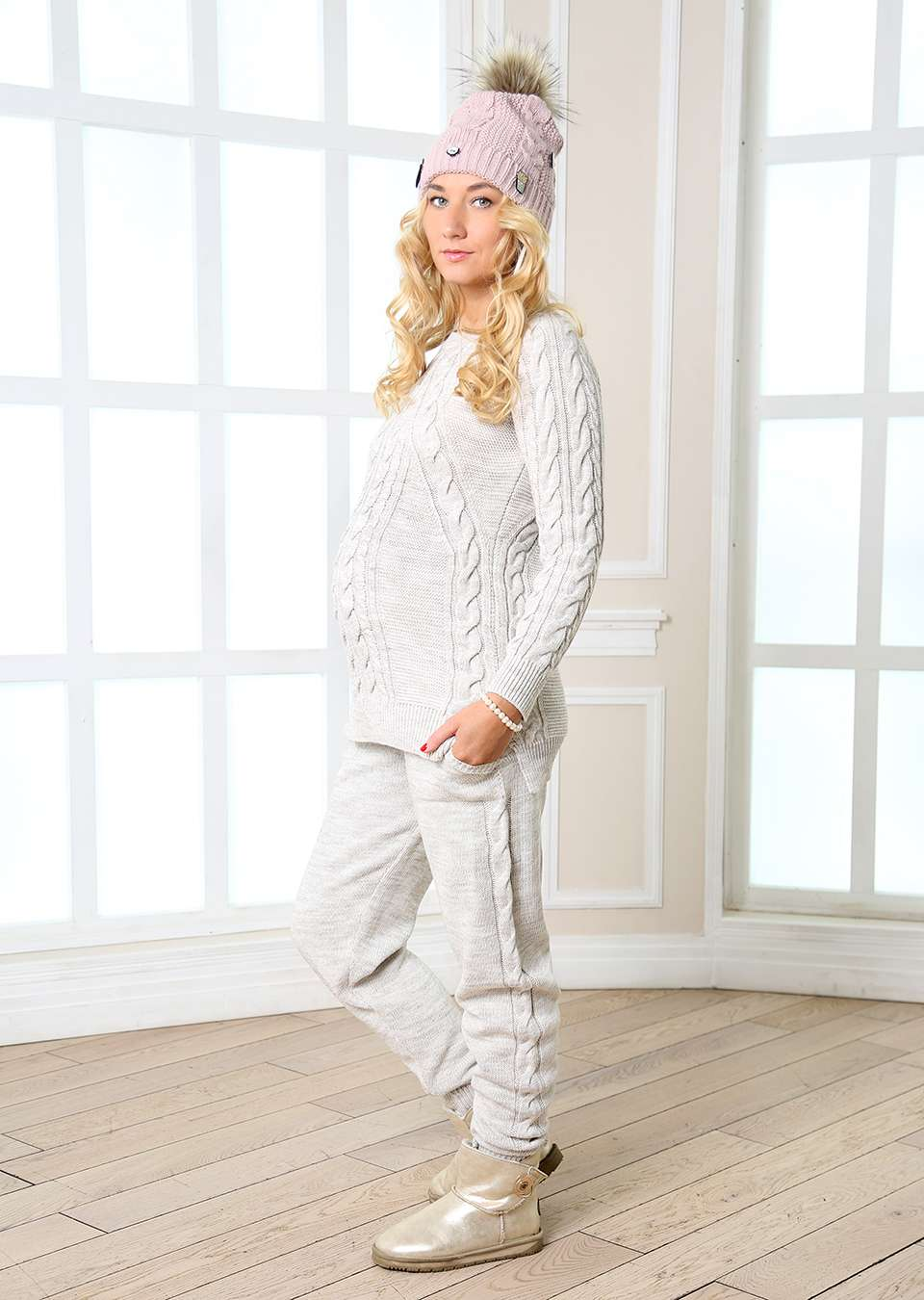 Костюм Дана для беременных из брюк и свитера