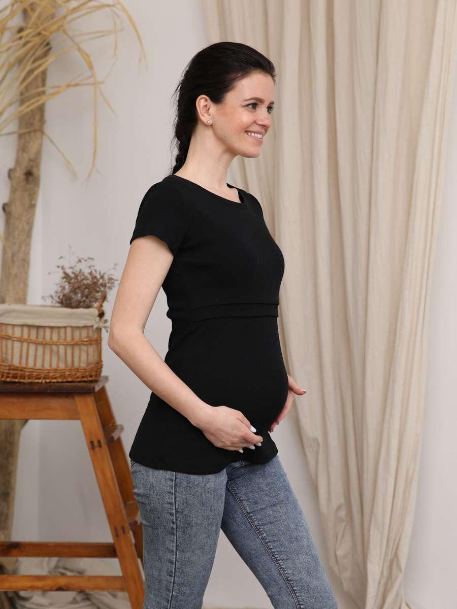 Футболка для беременных и кормящих