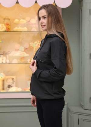 Спортивный джемпер для беременных и кормящих