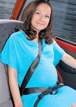 Приспособление ремня безопасности для беременных