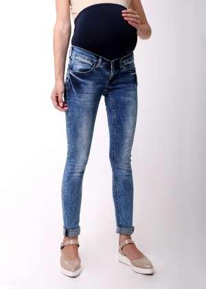синий джинс