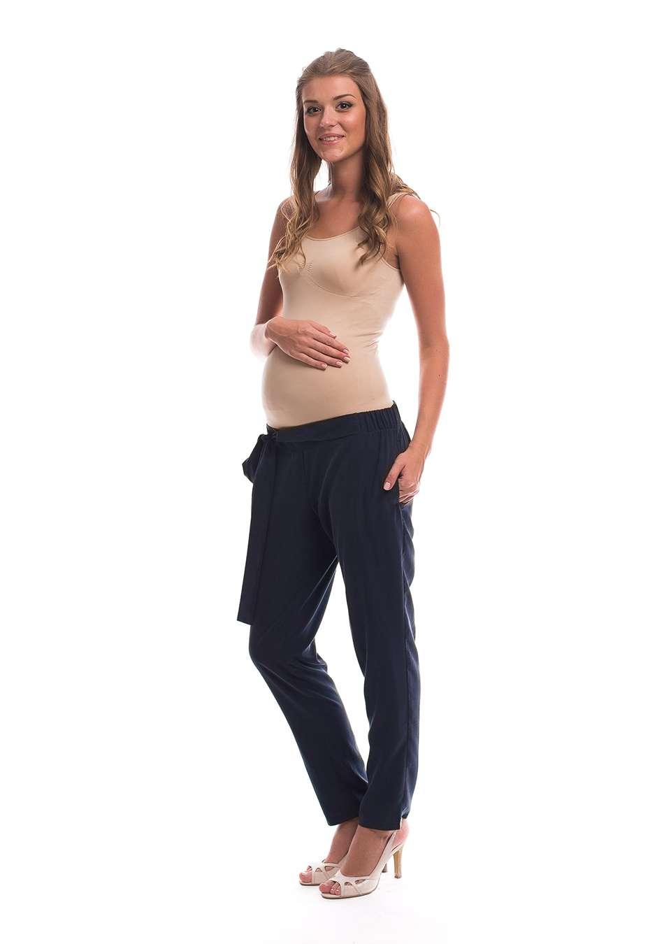 Брюки зауженные для беременных
