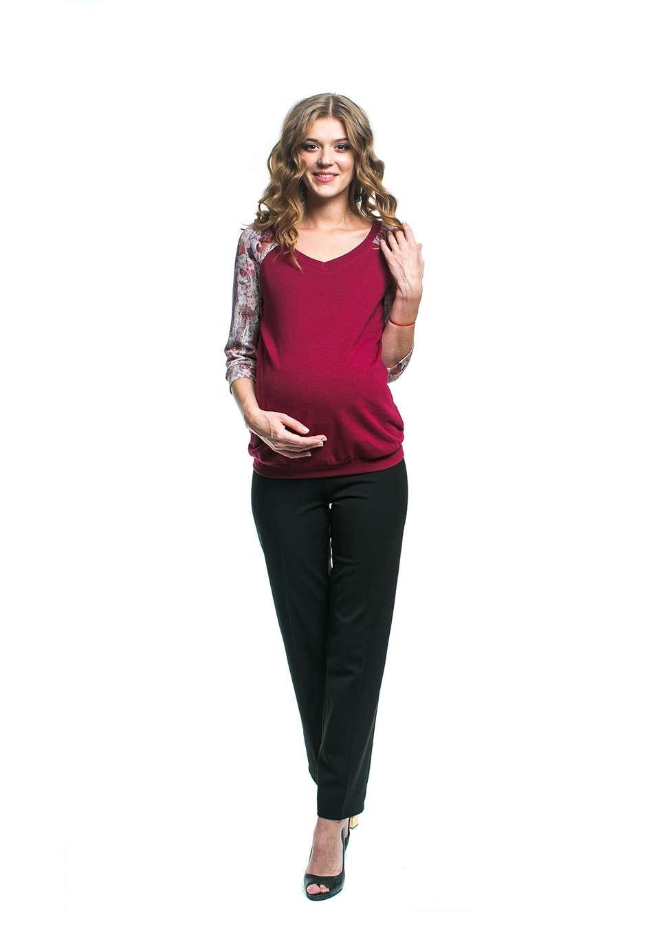 Брюки прямые для беременных